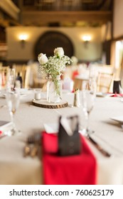Wedding Reception Table Settings