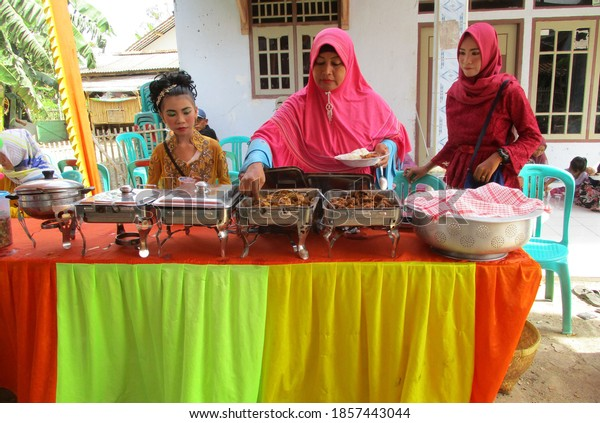 Wedding reception in West Java, Indonesia November 19/2021
