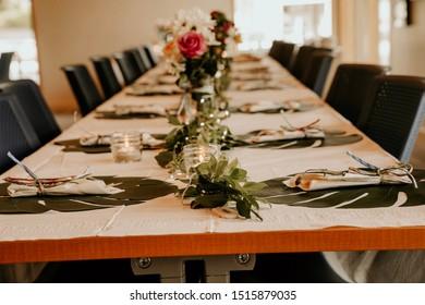 Wedding rehearsal dinner. May 2019.