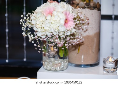 wedding restaurant elements and decoration elements