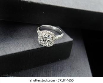 Wedding ring. Diamond ring.
