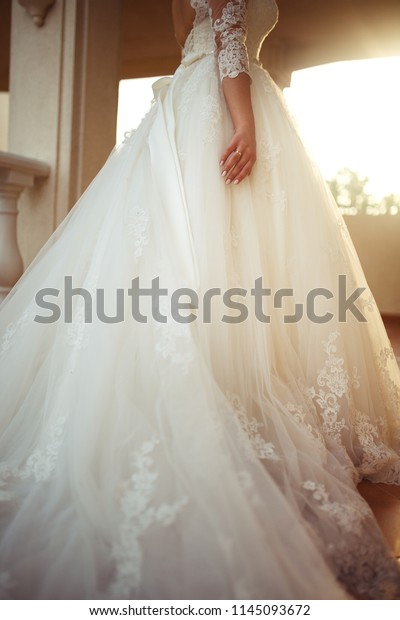 Wedding Ring On Hand Nice Girl People Stock Image