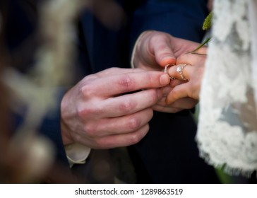 wedding rings, wedding ceremony, couple in love, man and wife, marriage, marriage vows
