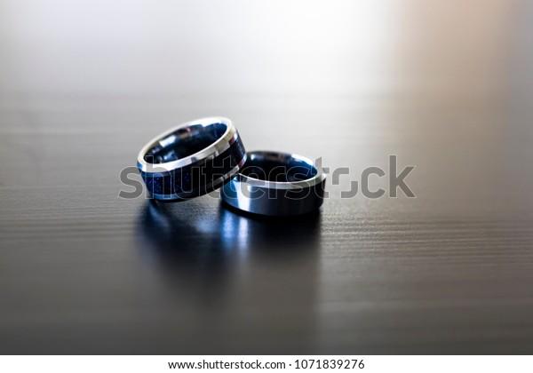 Wedding Rings Displayed