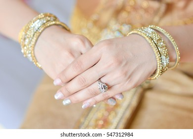 Wedding rings and equipment from Thailand