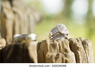 Wedding Rings Outdoor