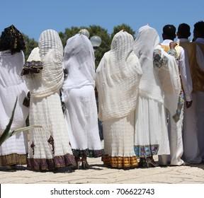 Wedding ritual in the Ethiopian community