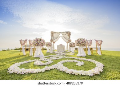 Wedding setting for wedding Planners's