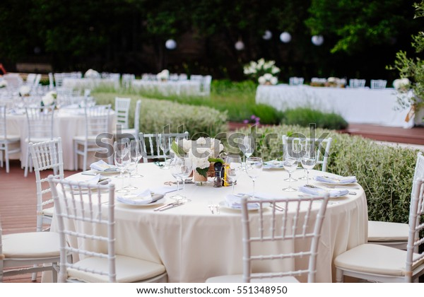 Wedding Table Coverage Flowers Decoration Wedding | Parks/Outdoor ...