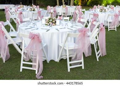 Wedding Tables.Outdoor Banquet Table.