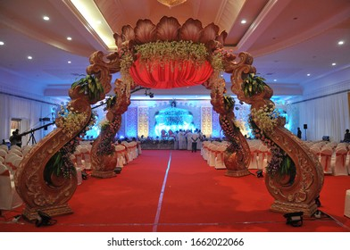 wedding Very Beauty Full stage decoration background