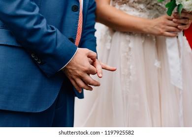 Wedding vowels ceremony outdoor
