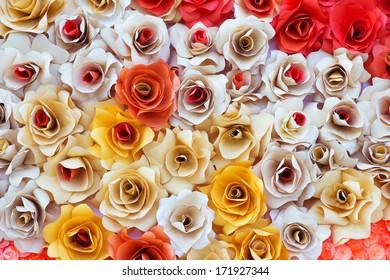 wedding white flowers background