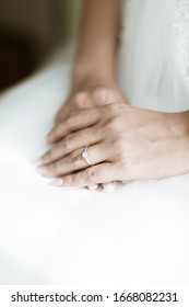 Weddingday Ceremony hands and ring