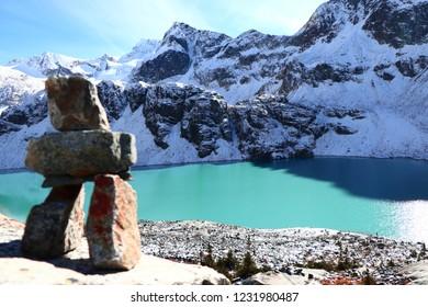 The Wedgemount Lake, Whistler, The British Columbia, Canada, hiking