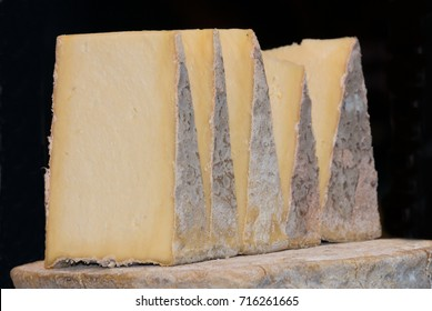 Wedges of Caerphilly Cheese
