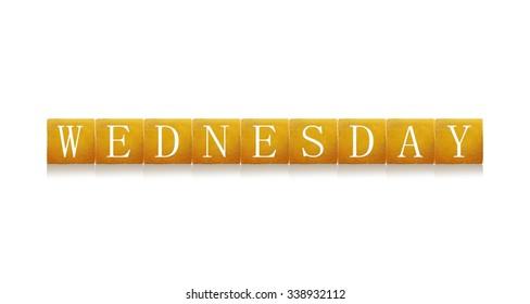 Wednesday word.