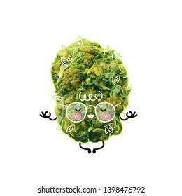 Cartoon Character Smoking Pot Stock Photos Images Photography
