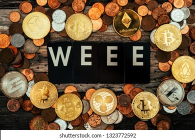 Weee-Express your voice with the concept of cryptocurrency and vocal words