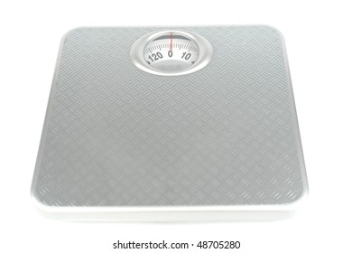 weight isolated on  a white bg