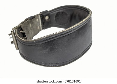 weight lifting belts body buiding isolate