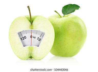 Weight loss diet concept