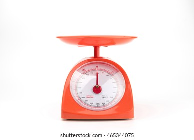 weight scale with clipping path