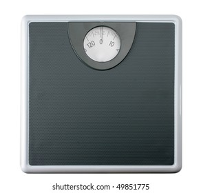 Weight scale, isolated background