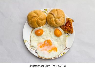 Weird brekfast in the morning