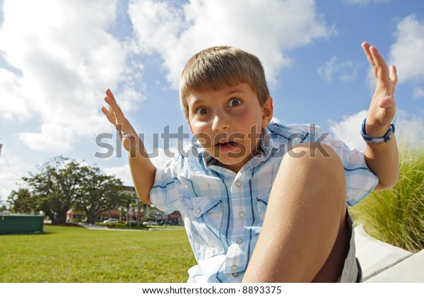 Weird Kid Stock Photos 1