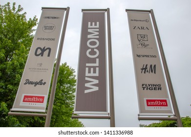 Welcome Billboard For The Amstelveen Shopping Mall At Amstelveen The Netherlands 2019Welcome Billboard For The Amstelveen Shopping Mall At Amstelveen The Netherlands 2019