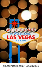 Welcome to Fabulous Las Vegas Neon Sign