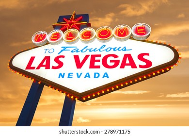 Welcome to Fabulous Las Vegas Neon Light Sign