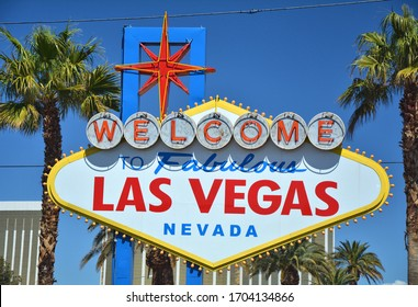 Welcome to Fabulous Las Vegas, Nevada sign.