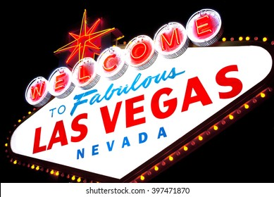 Welcome to fabulous Las vegas Nevada sign
