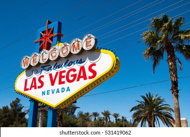 The Welcome to Fabulous Las Vegas sign is a Las Vegas landmark