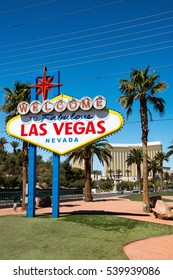 The Welcome to Fabulous Las Vegas sign is a Las Vegas landmark in Nevada
