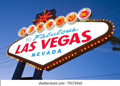Welcome to Famous Las Vegas Welcome Sign