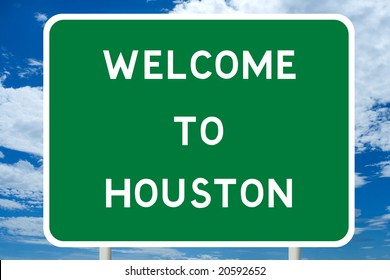 Welcome to Houston Road Sign