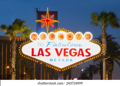 Welcome to Las Vegas Neon Light Sign