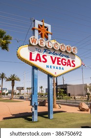 Welcome To Las Vegas sign - LAS VEGAS, NEVADA APRIL 12, 2015