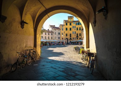 Welcome to Lucca, Italy