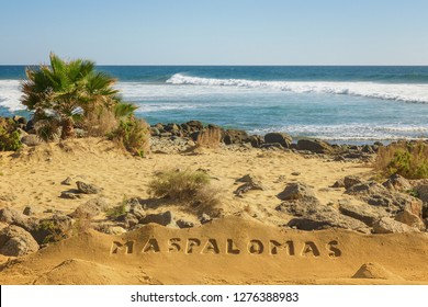 Welcome to Maspalomas beach