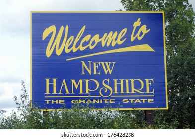 Welcome to New Hampshire Sign