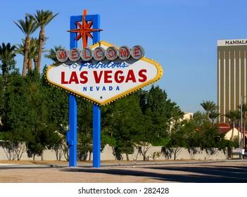 Welcome Sign Las Vegas, Nevada.