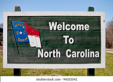 Welcome Sign to North Carolina