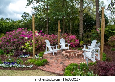 Welcome Spring and Summer with gardens designed for entertaining. Landscaped home design, small fairy gardens, painters get inspiration among the flowers.