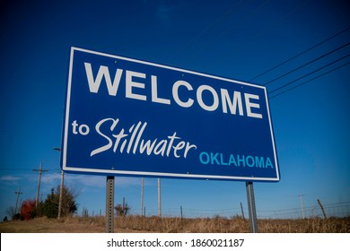 Welcome to Stillwater, Oklahoma sign