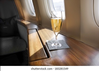 Welcoming Glass of Champagne