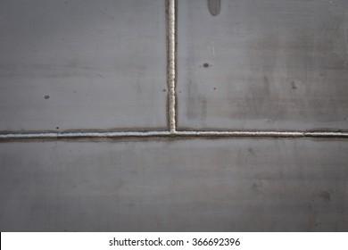 Welded stainless steel